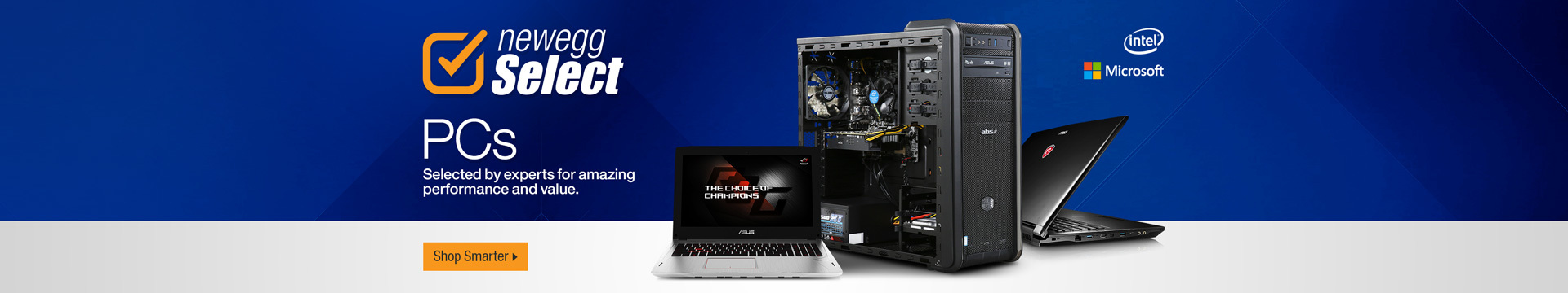 Newegg Select PCs