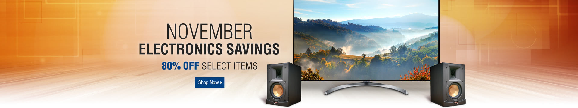 November Electronics Savings