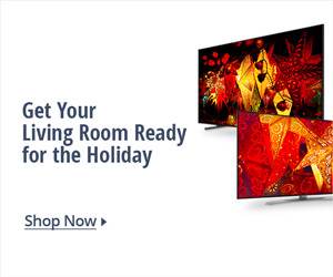 Get your living room ready for the holiday