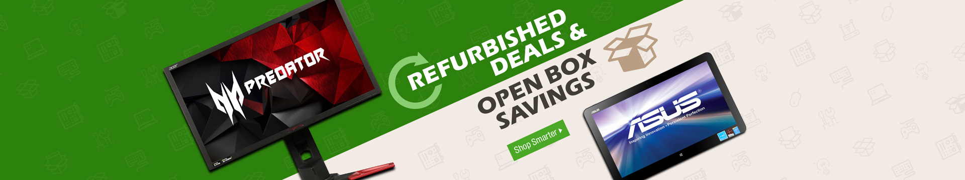 Refurbished Deals & Open Box Savings