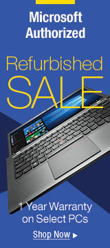Refurbished sale