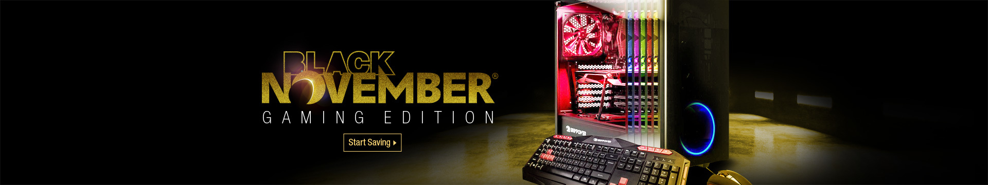 Black November Gaming Edition