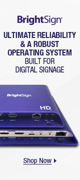 ULTIMATE RELIABILITY & A ROBUST OPERATING SYSTEM BUILT FOR DIGTAL SIGNAGE