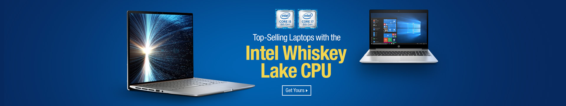 Top Selling Laptops with the Intel Whiskey