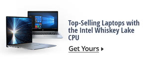 Top-selling laptops with the Intel whiskey lake CPU
