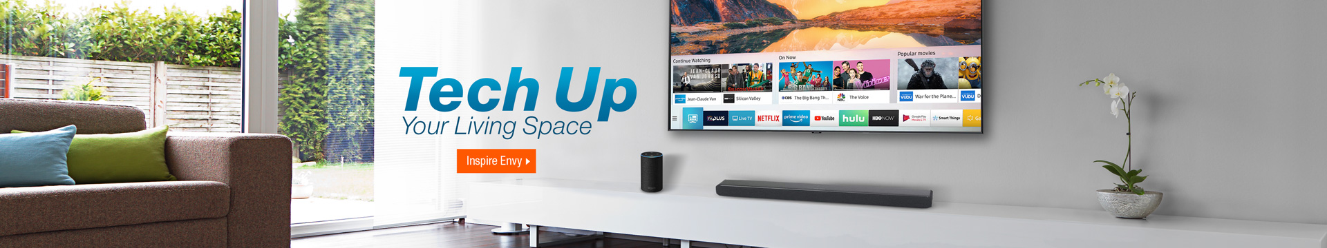 Tech Up Your Living Space