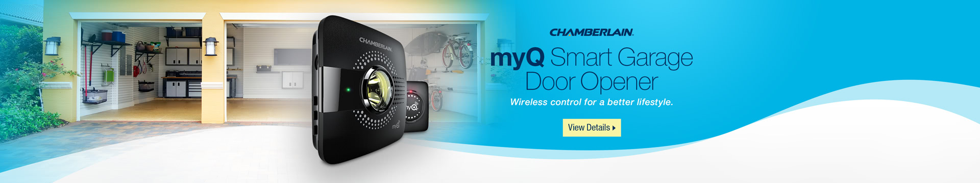 Smart Garage Door Opener Wireless control for a better lifestyle