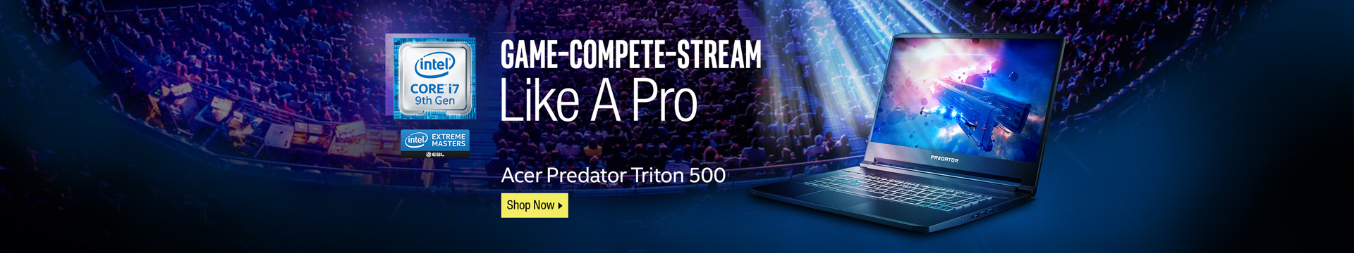 Game–Compete–Stream Like A Pro