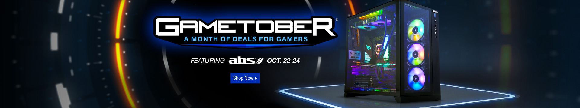 Gametober Featuring abs