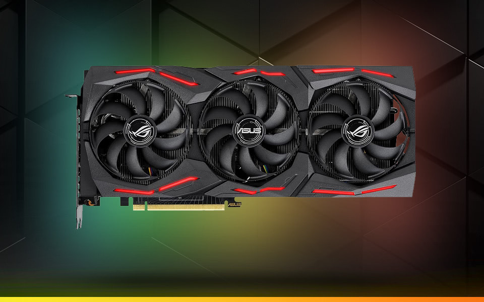 ASUS ROG STRIX GeForce RTX 2080 SUPER Advanced Overclocked 8G GDDR6 HDMI DP 1.4 USB Type-C Gaming Graphics Card
