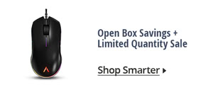 Open Box Savings + Limited Qunatity Sale