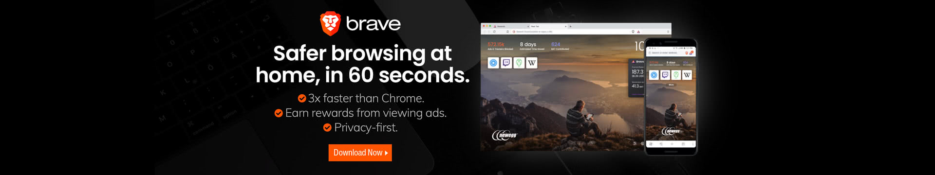 Safer browsing at home, in 60 seconds