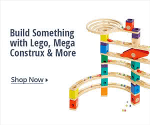 BUILD SOMETHING WITH LEGO, MEGA CONSTRUX & MORE