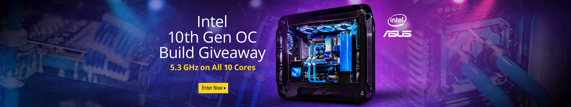 Intel 10th Gen OC Build Giveaway