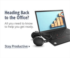 HEADING BACK TO THE OFFICE?