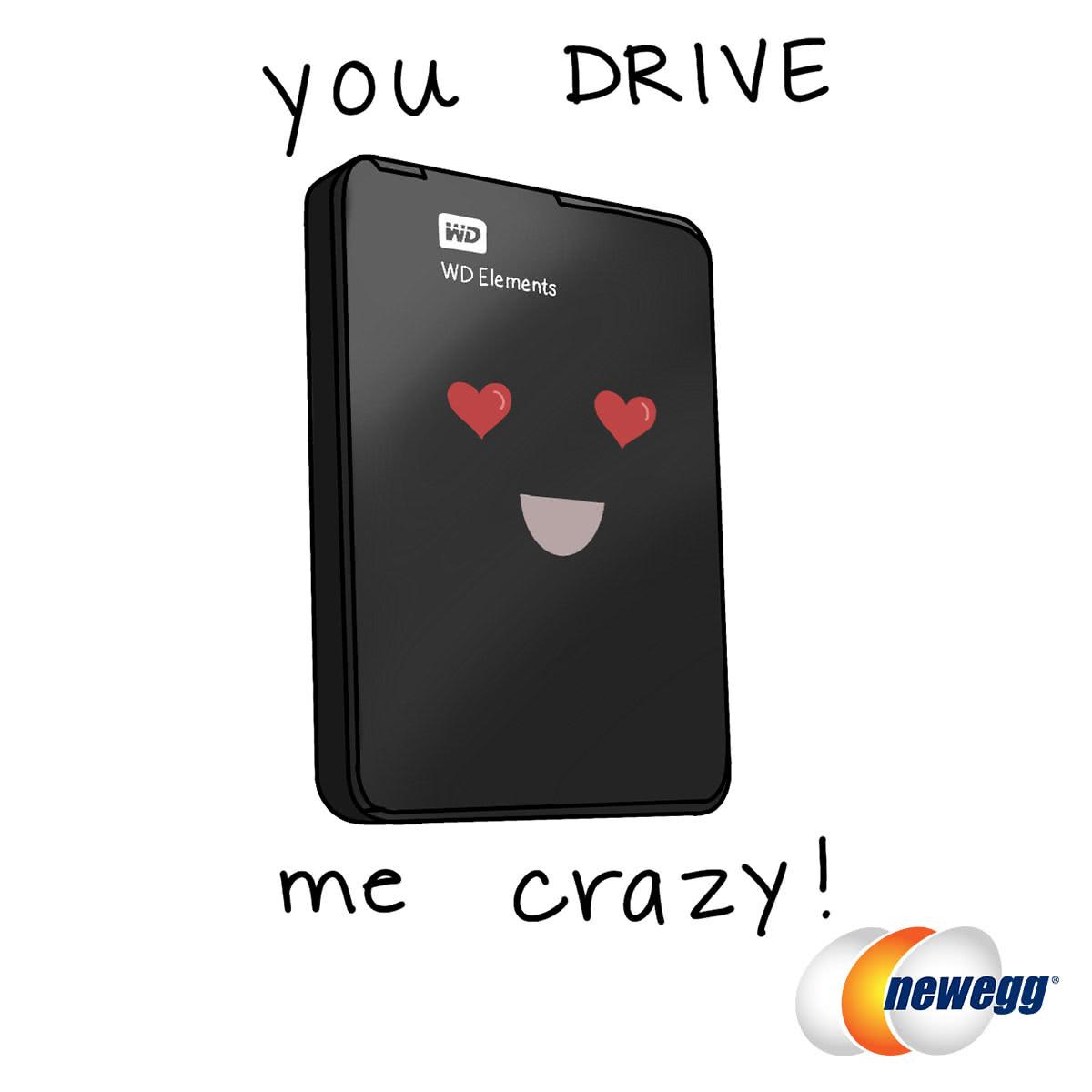 You Drive Me Crazy!
