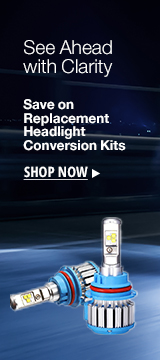 Save on replacement headlight conversion kits