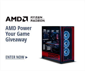AMD POWER YOUR GAME GIVEAWAY
