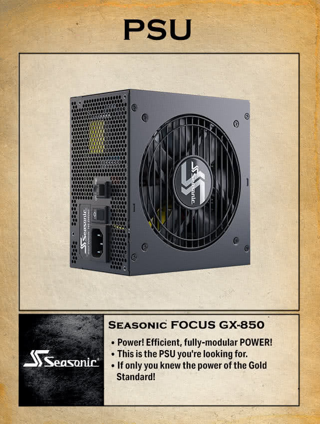 Seasonic FOCUS GX-850, 850W 80+ Gold, Full-Modular, Fan Control in Fanless, Silent, and Cooling Mode, 10 Year Warranty, Perfect Power Supply for Gaming and Various Application, SSR-850FX