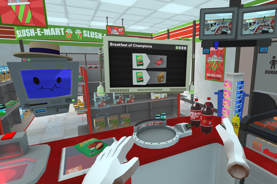 Job Simulator (HTC Vive, Oculus Touch, PSVR)