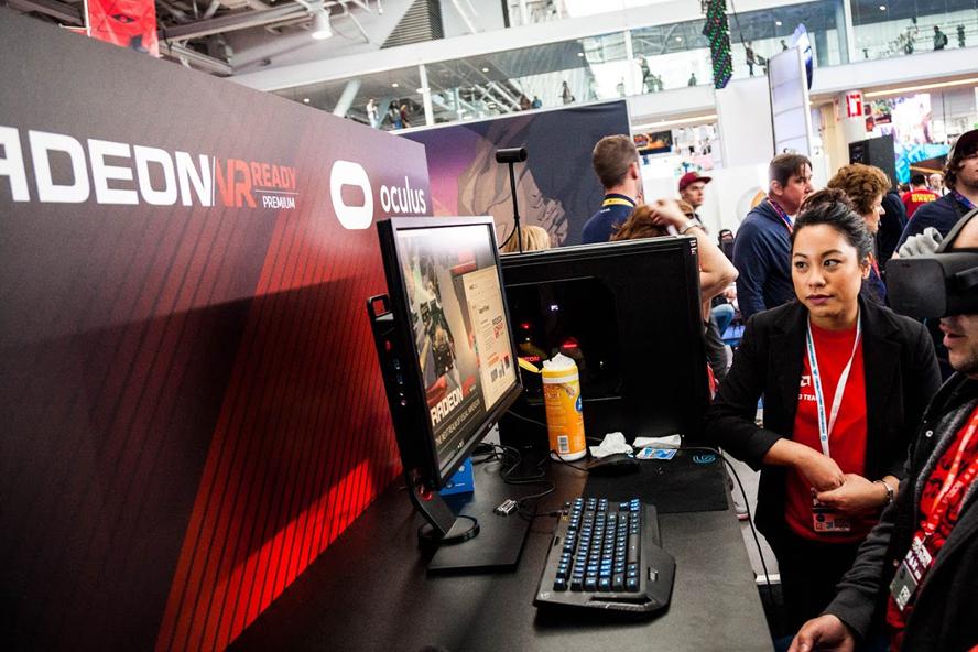Pax East AMD Radeon Oculus