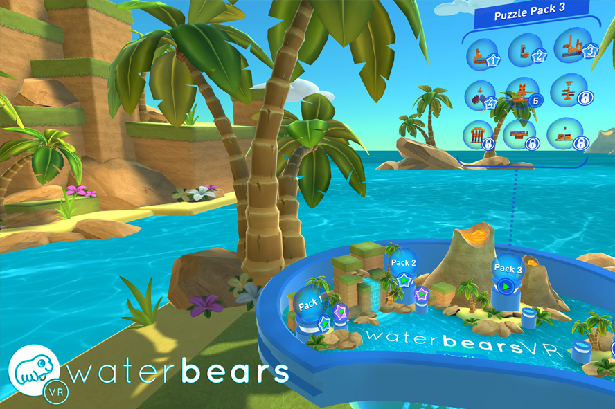 Water Bears VR (HTC Vive)