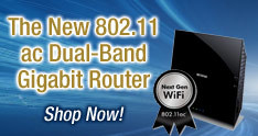 R6200 WiFi Router 802.11 ac Dual-Band Gigabit Router