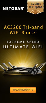 AC3200 Tri-band WiFi Router
