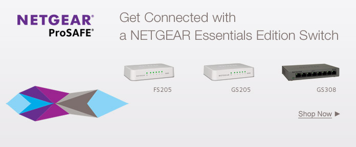 Get connected with a NETGEAR essentials edition switch