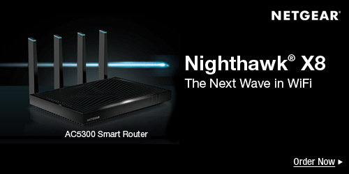 Nighthawk® X8 AC5300 Smart WiFi Router