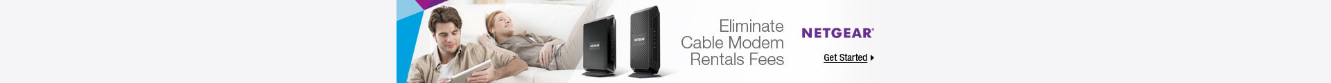 Eliminate cable modem rentals fees