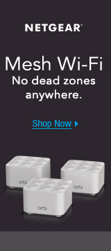 Mesh Wi-Fi No Dead Zones Anywhere