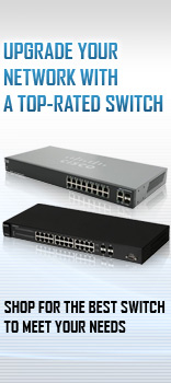 UPGRADE YOUR NETWORK WITH A TOP-RATED SWITCH