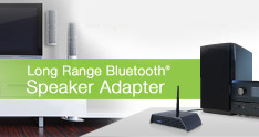 Amped Wireless BTSA1 Long Range Bluetooth Speaker Adapter