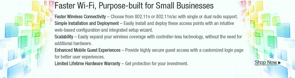 Faster Wi-Fi, Purpose-built for Small Businesses
