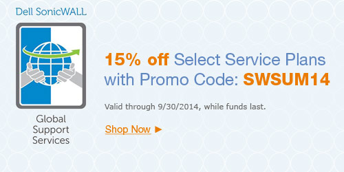 15% Off Select Service Plans