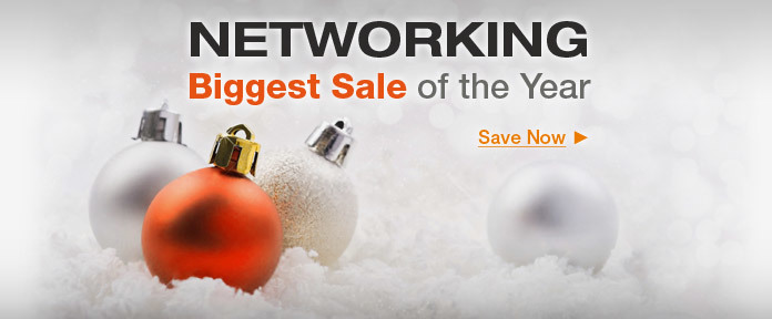 Networking Biggest Sale of the Year
