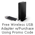 Free Wireless USB Adapter w/ Purchase