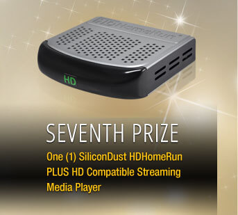Seventh One (1) SiliconADust HDHomeRun PLUS HD Compatible Streaming Media Player