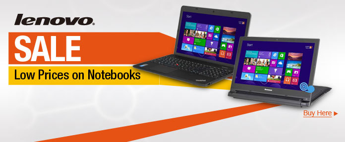 Lenovo Sale - Lower Prices on Notebooks