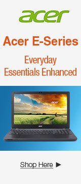 Acer E-Series Notebook