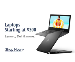 Laptops starting at $300