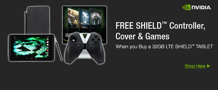 FREE SHIELD Controller, Cover & Games