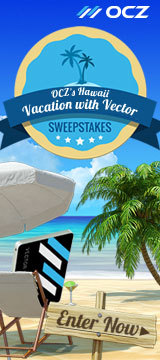 OCZ's Hawaii Vacation with Vector