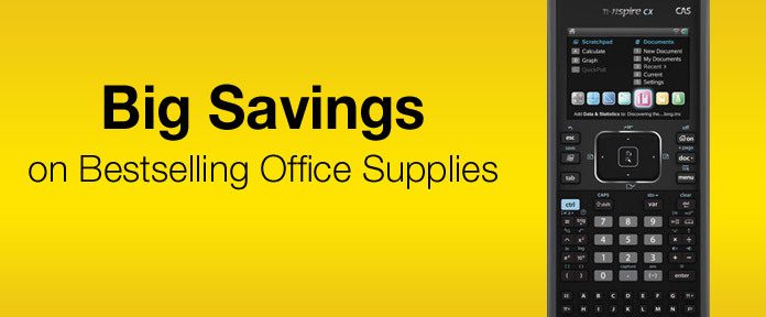Big Savings on Bestselling Office Supplies