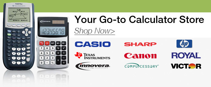 Your Go-To Calculator Store