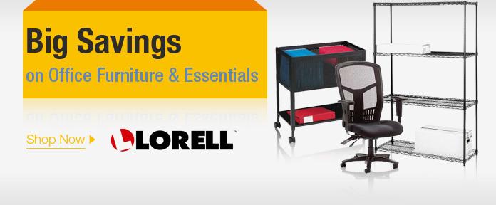 Big savings on office furniture & essentials