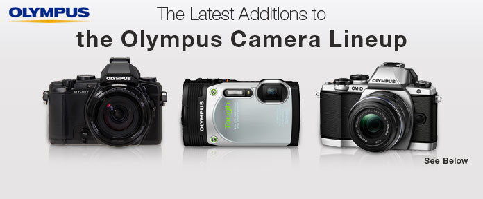 The Latest Additions to the Olympus Camera Lineup