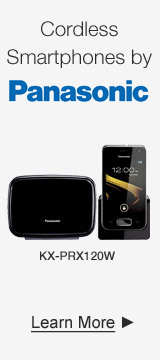 Cordless Smartphones by Panasonic