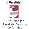 Just Released,Parallels Desktop 10 for Mac
